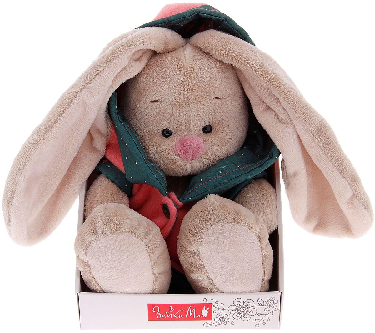 Фото Зайка Ми Мягкая игрушка Зайка Ми в куртке с капюшоном 1000162