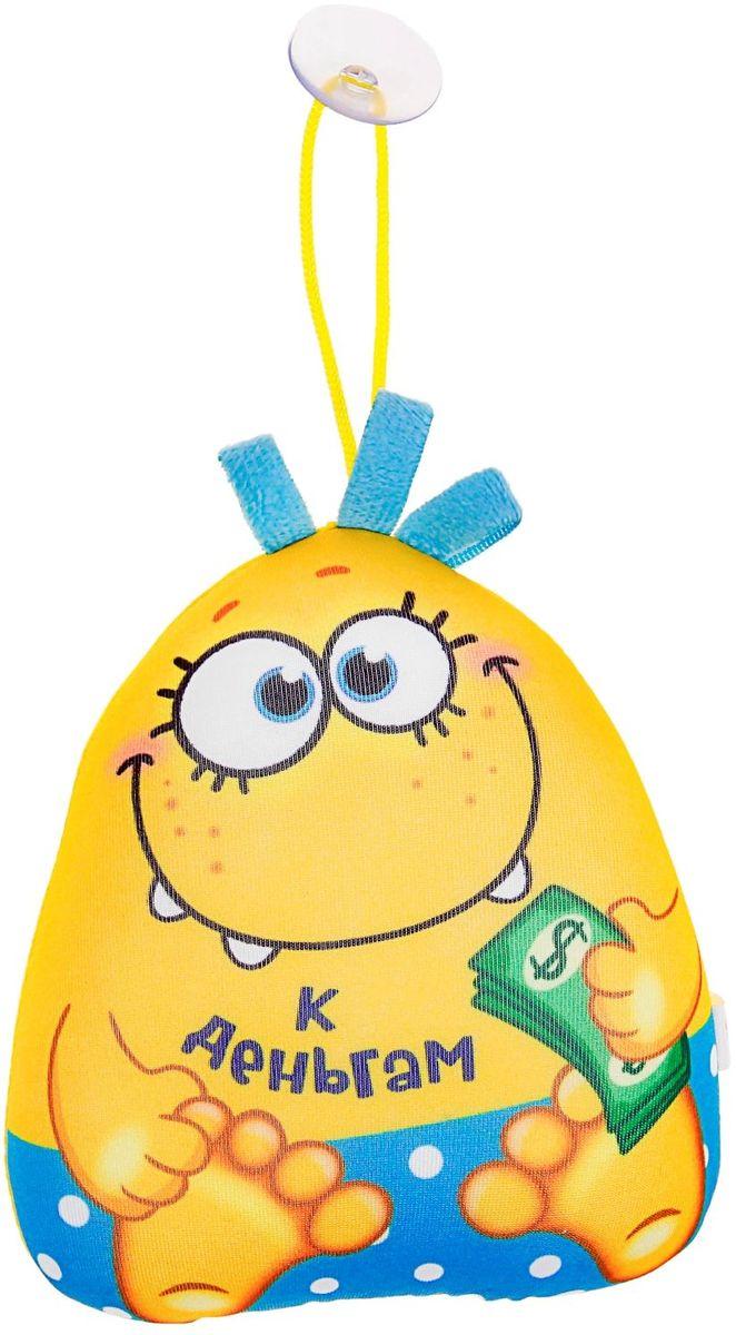 Sima-land Мягкая игрушка-антистресс озвученная Дракончик К деньгам 15 см 1015609 открытка объемная sima land колокольчики 15 х 15 см