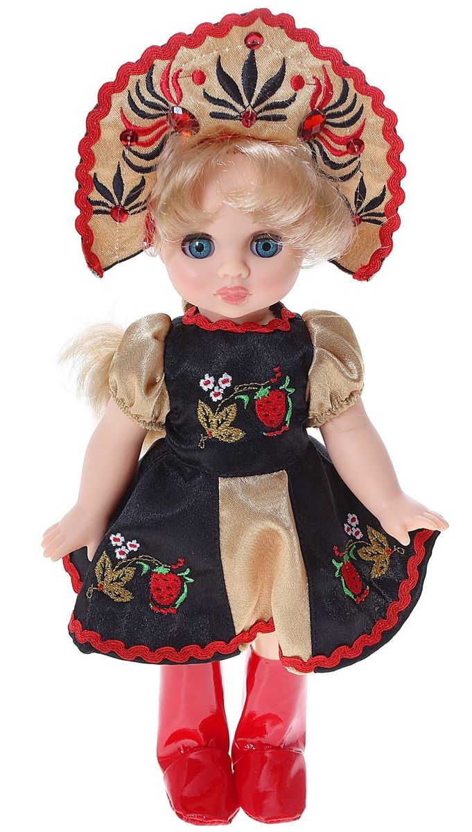 Sima-land Кукла Эля Хохломская красавица 30,5 см 1066684 sima land кукла озвученная принцесса ариэль со светящимся амулетом