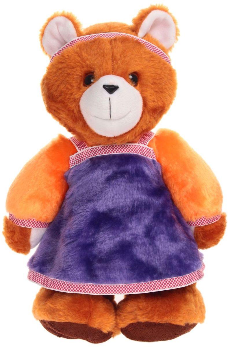 Радомир Мягкая игрушка Медведь Дарья 40 см 2008850 радомир мягкая игрушка собака соня 55 см 2008906
