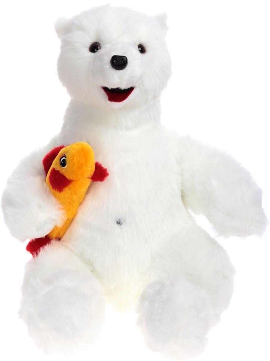 Радомир Мягкая игрушка Медведь Снежок 55 см 2008853 радомир мягкая игрушка собака дог 66 см 2008876