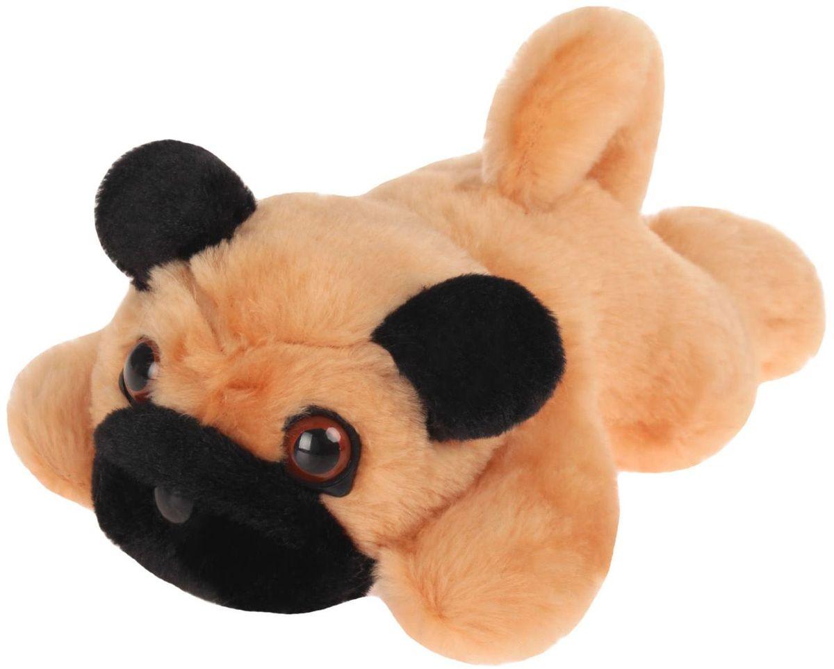Радомир Мягкая игрушка Собака Мопс 25 см 2008869 радомир мягкая игрушка собака соня 55 см 2008906