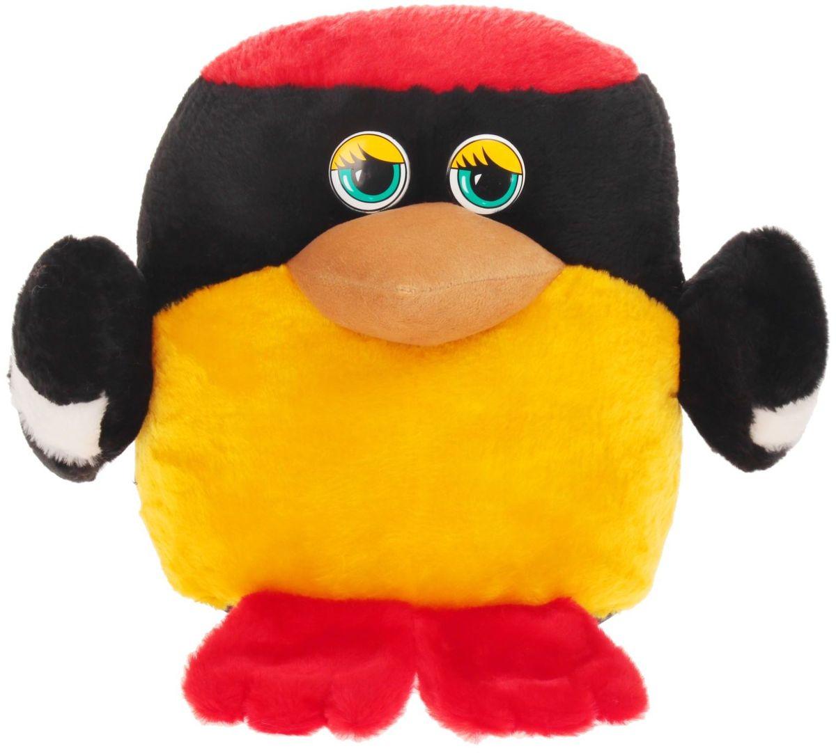 Радомир Мягкая игрушка Птица Пуф 33 см 2008893 радомир мягкая игрушка собака соня 55 см 2008906