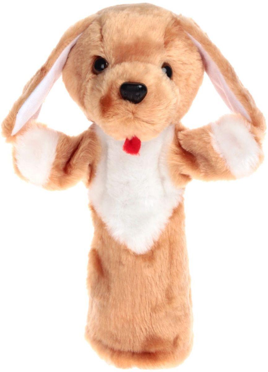 Sima-land Мягкая игрушка на руку Собака Би-ба-бо sima land мягкая игрушка на руку заяц 506986