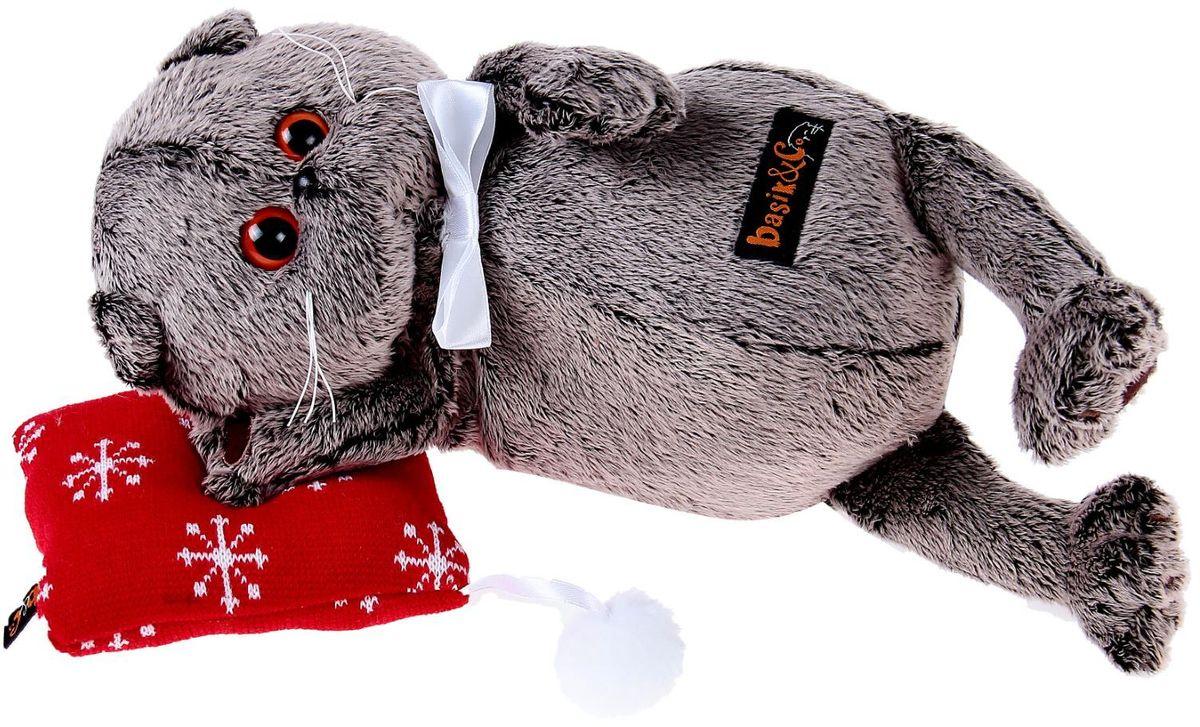 Басик и Ко Мягкая игрушка Басик на подушке 26 см 2059574 пальто басик