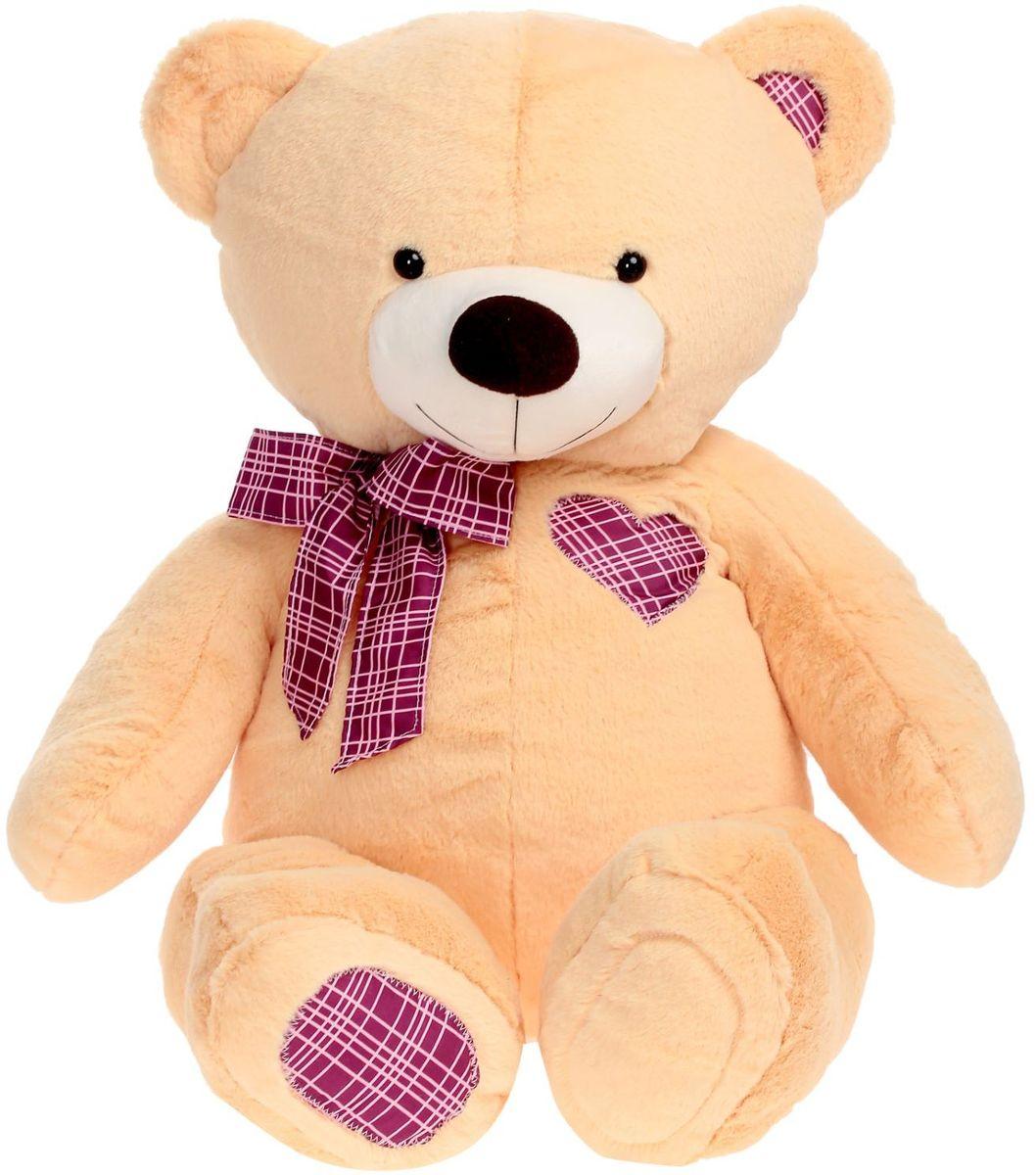 Zakazat.ru: Плюшевый шар Мягкая игрушка Медведь цвет персиковый 70 см