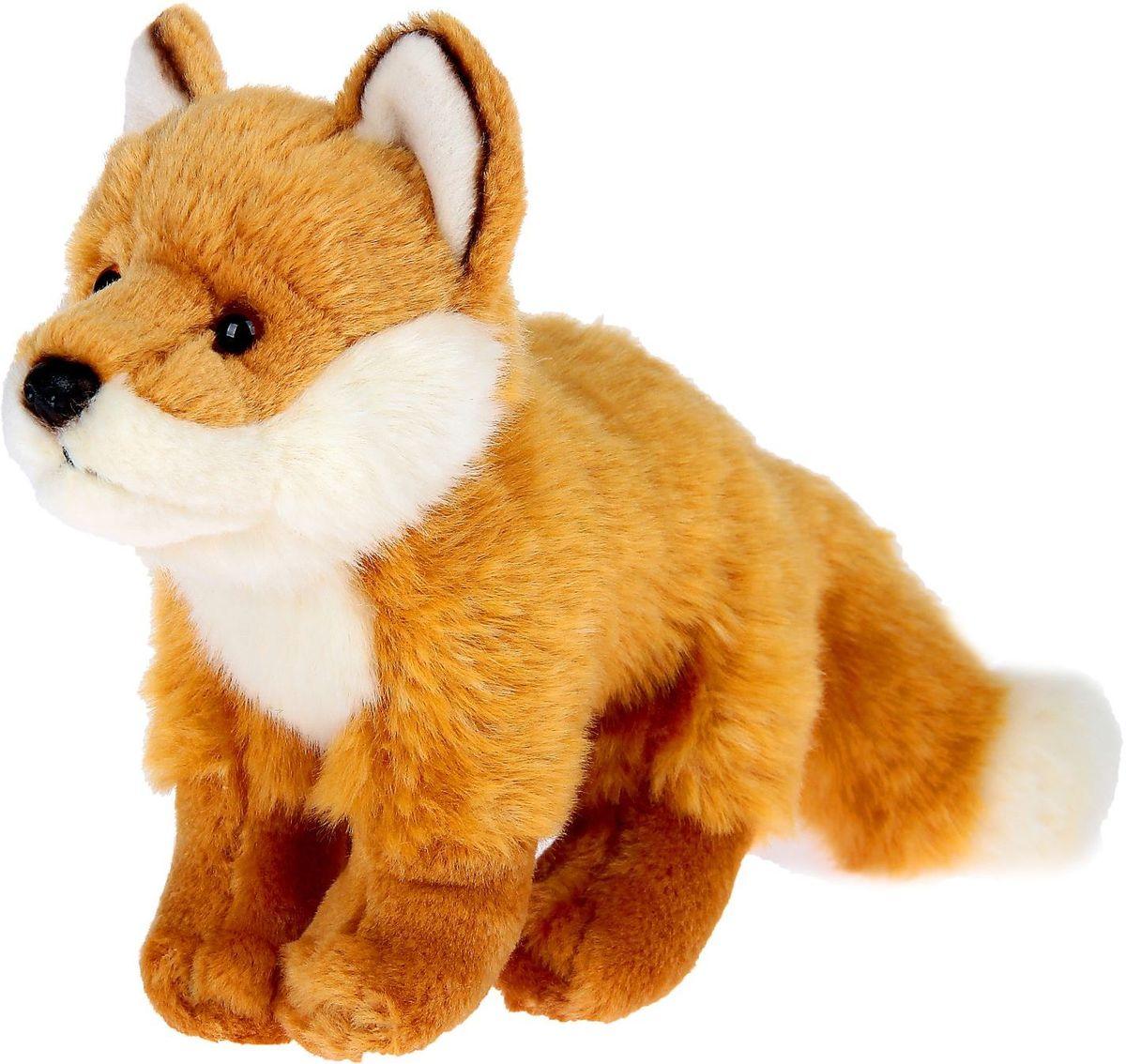 WWF Мягкая игрушка Лиса 15 см wwf кролик коричневый wwf мягкая игрушка 18 см