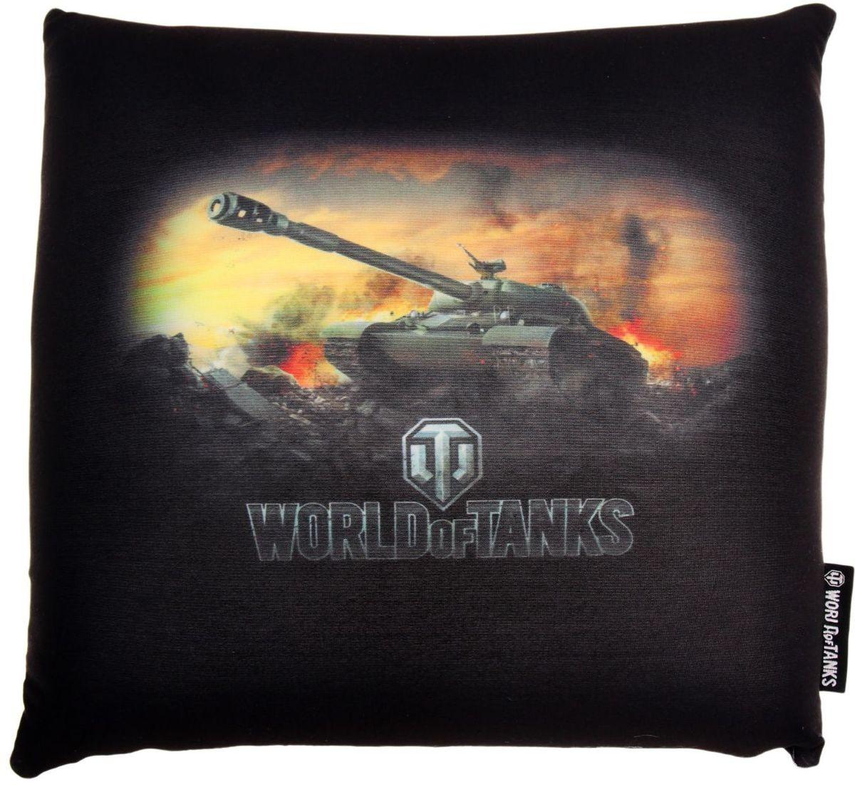 Maxitoys Подушка-игрушка World Of Tanks 15 см 2121439 подушки декоративные maxitoys декоративная подушка world of tanks