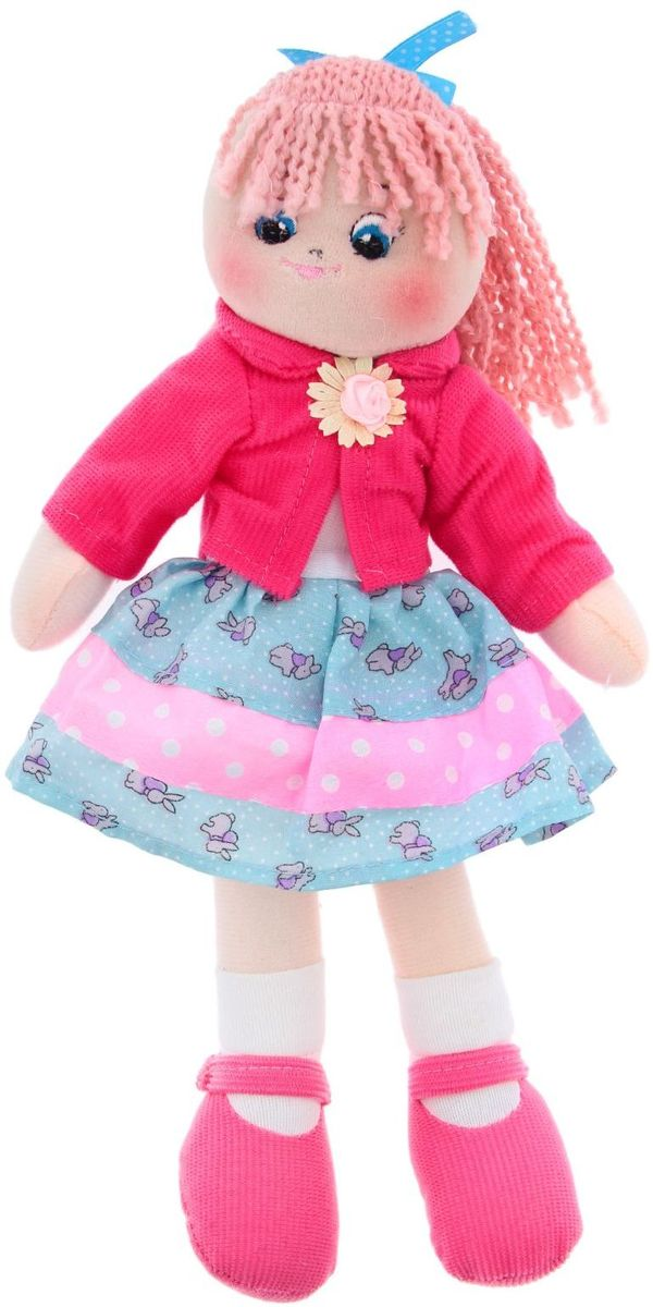 GULLIVER Мягкая игрушка Кукла Земляничка 30 см 2122841 игрушка мягкая gulliver кукла хозяюшка 30см