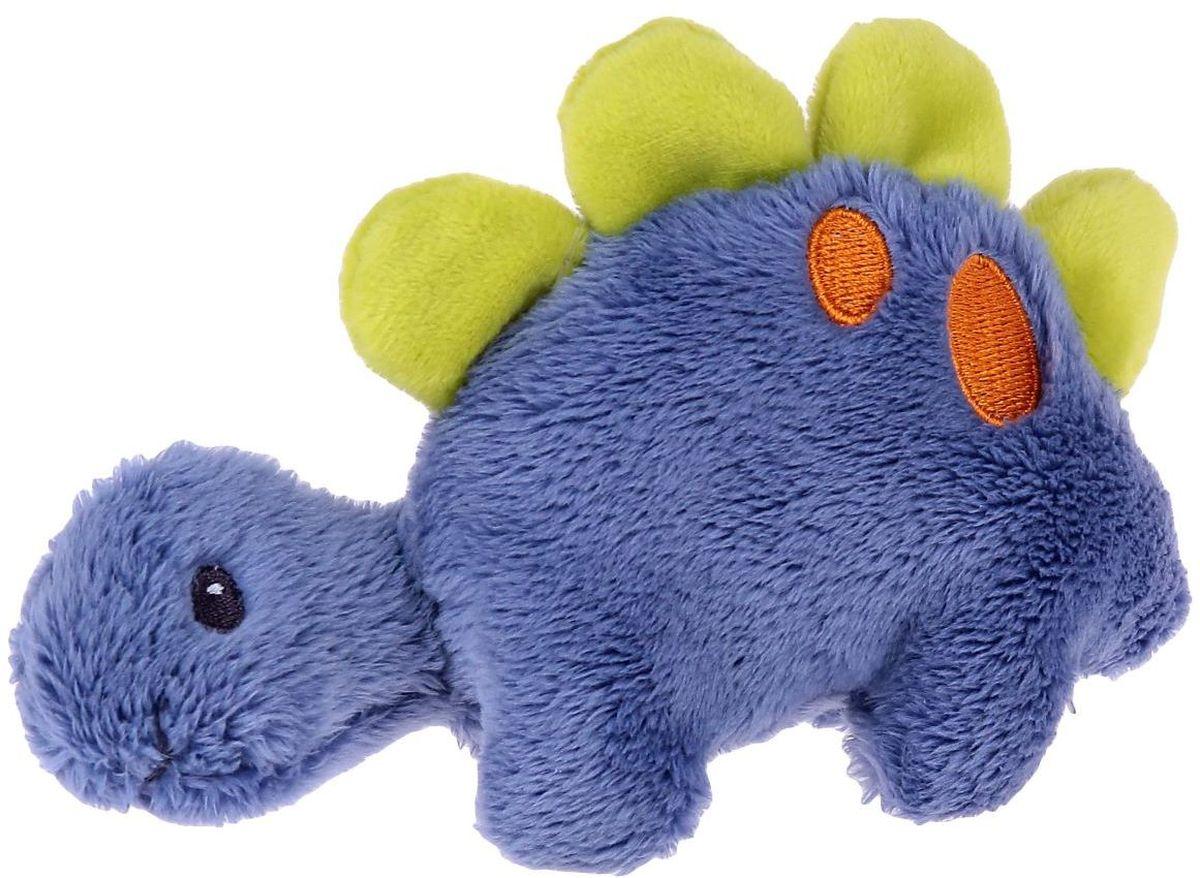 Gund Мягкая игрушка Динозавр Dino Rattles 12,5 см 2245482 gund мягкая игрушка velvetino с зеленым шарфом 30 5 см