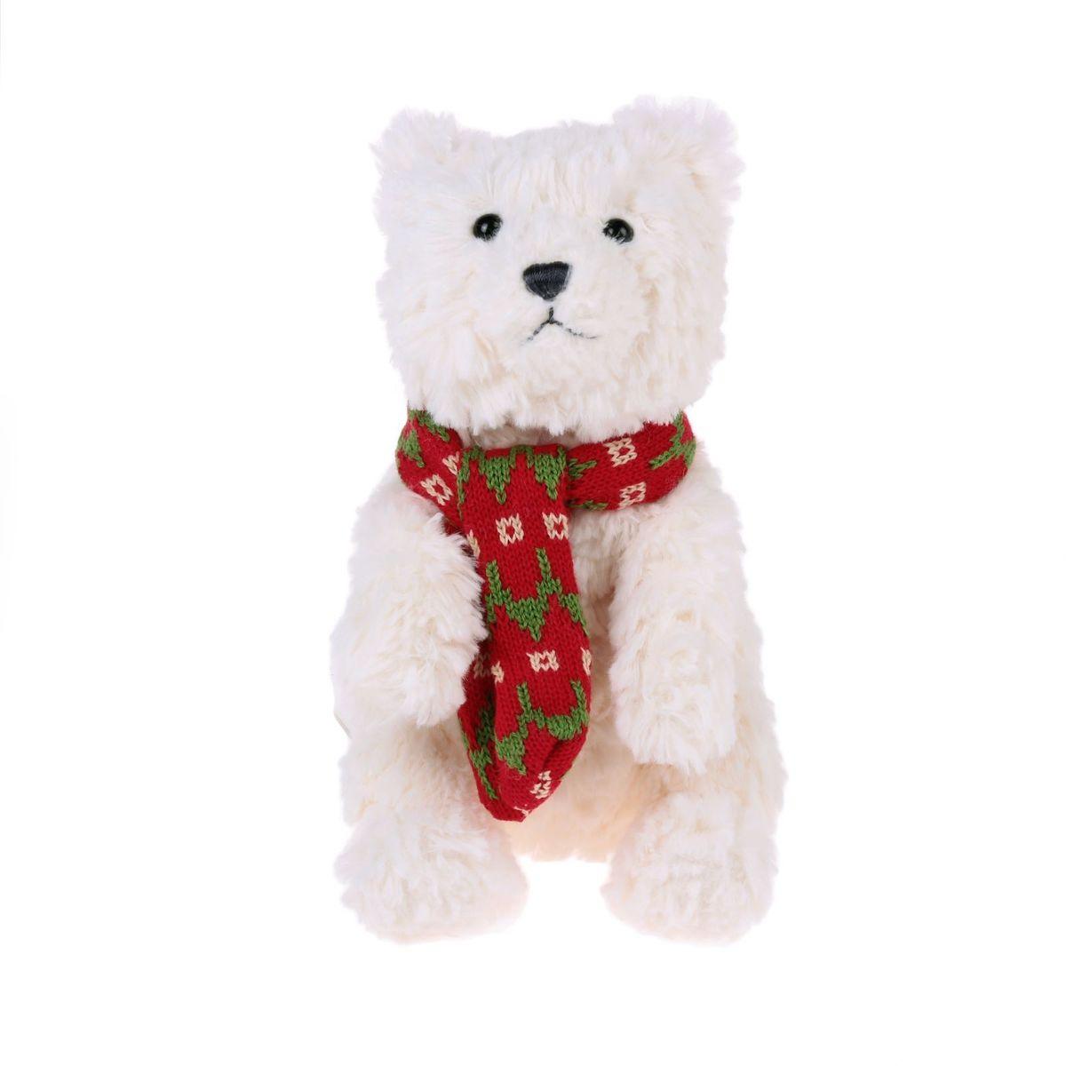 Gund Мягкая игрушка Медведь полярный Bluster Small 30,5 см 2245496 gund мягкая игрушка velvetino с зеленым шарфом 30 5 см