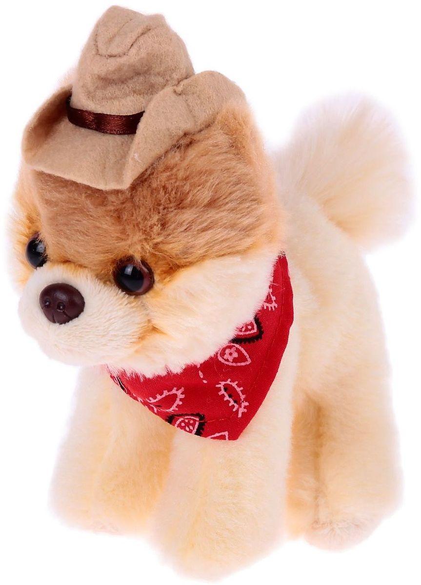 Gund Мягкая игрушка Собака Itty Bitty Boo Cowboy Hat 12, 5 см 2245509, Мягкие игрушки  - купить со скидкой