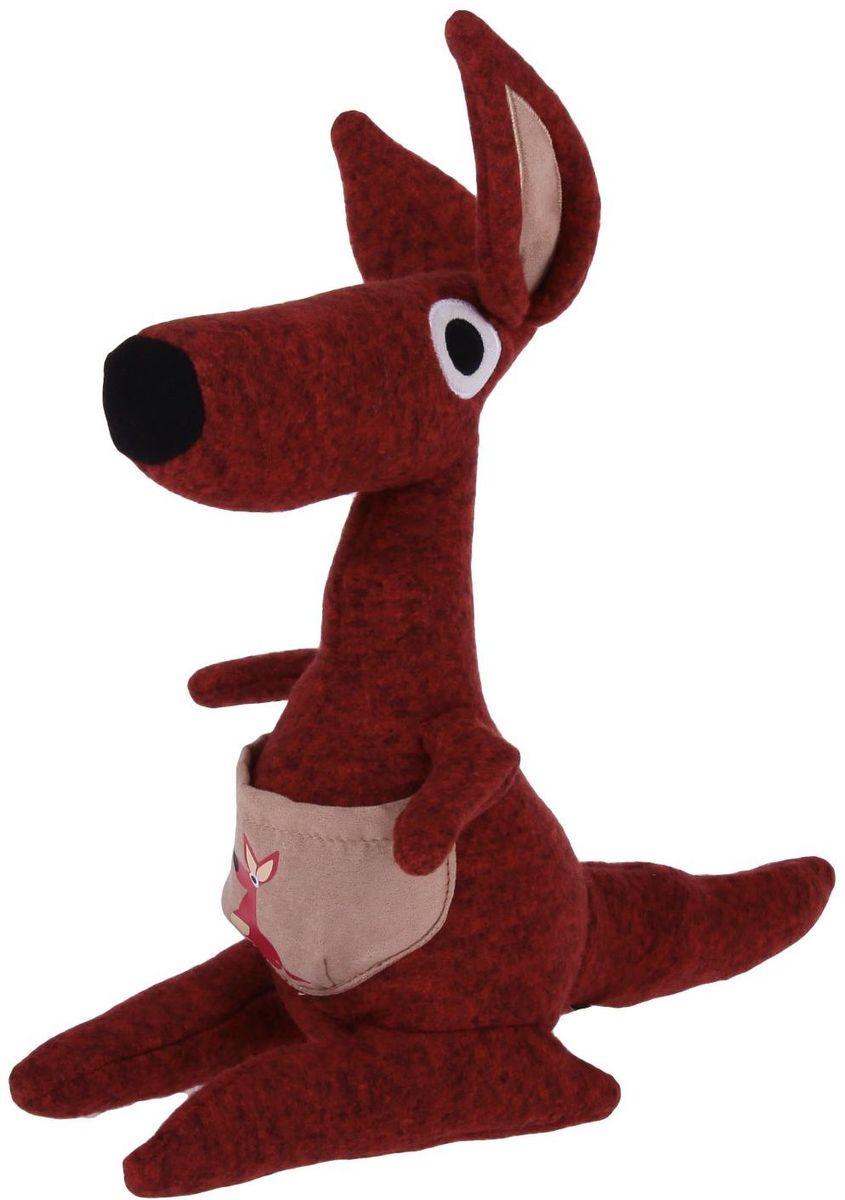 Gund Мягкая игрушка Кенгуру Kichi 28 см 2245518 малышарики мягкая игрушка собака бассет хаунд 23 см