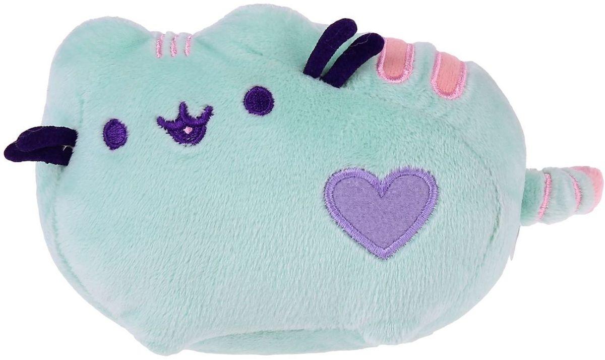 Gund Мягкая игрушка Кошка Pusheen 10,5 см 2245534 gund мягкая игрушка velvetino с зеленым шарфом 30 5 см