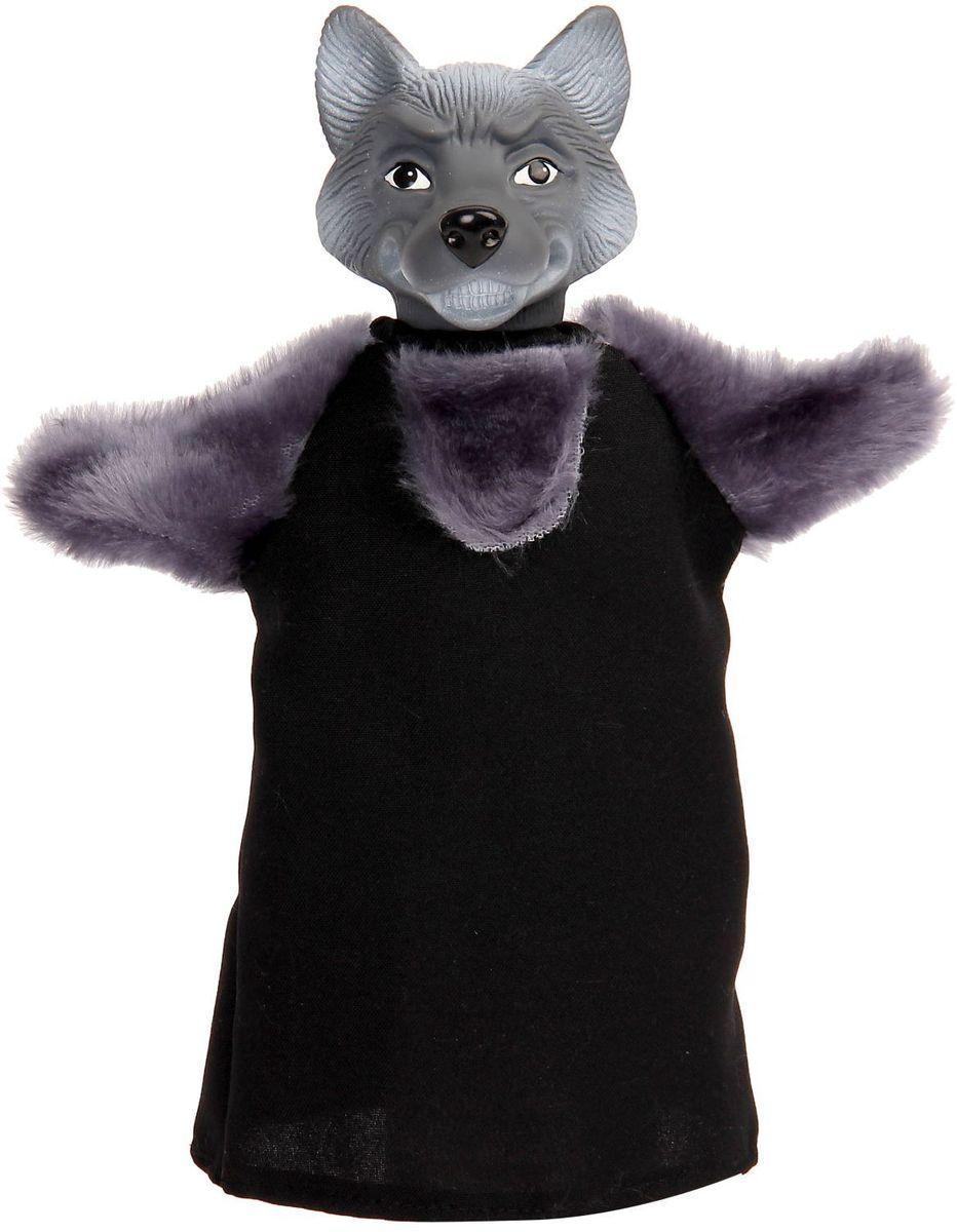 Sima-land Мягкая игрушка на руку Волк 2292342 sima land кукла на руку волк