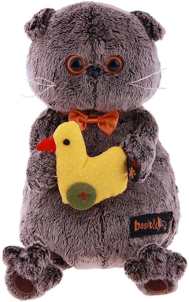 Басик и Ко Мягкая игрушка Басик с уточкой 22 см 279575 пальто басик