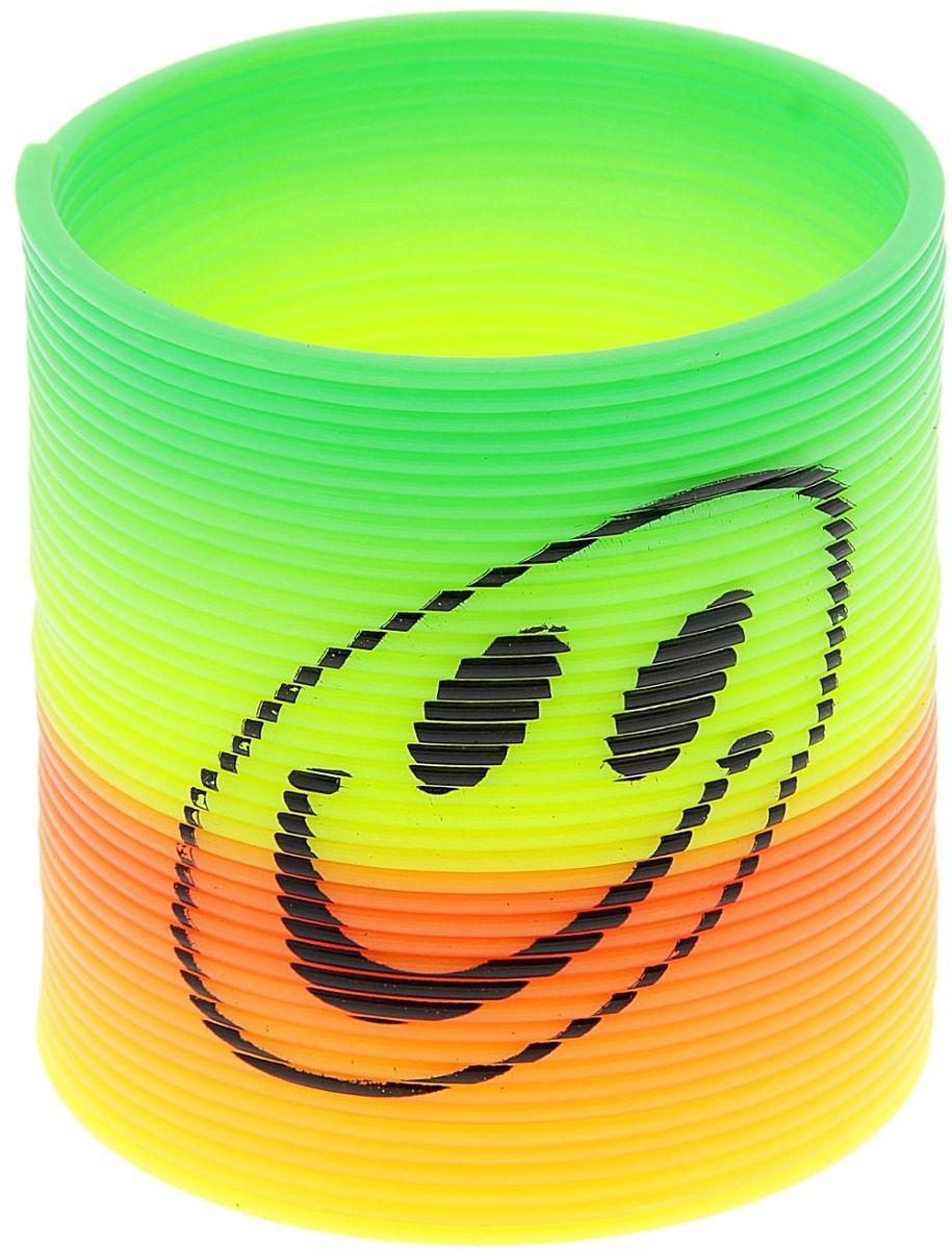Sima-land Антистрессовая игрушка Пружинка Радуга Веселый смайл sima land антистрессовая игрушка пружинка радуга сердечко 305788
