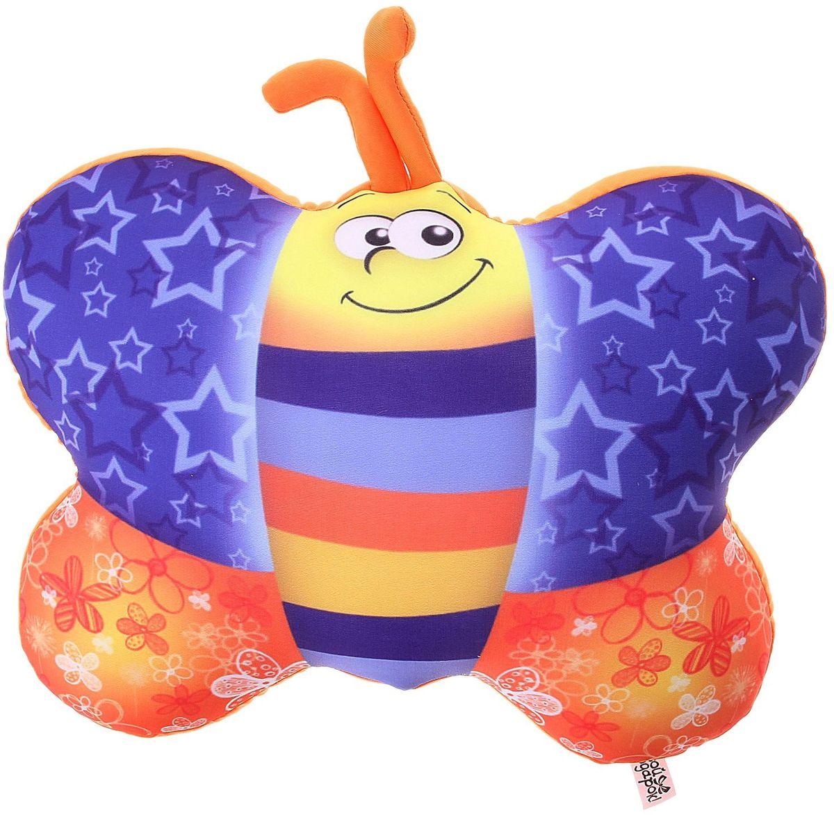 Sima-land Мягкая игрушка-антистресс Бабочка 330463 sima land мягкая игрушка антистресс губы целовашки 864936
