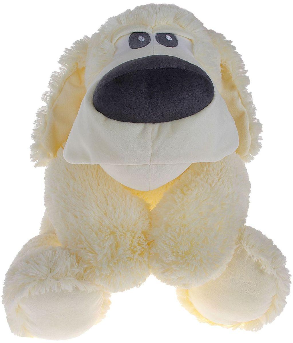 Fancy Мягкая игрушка Собака Сплюшка 70 см 378752 fancy мягкая игрушка собака эля 14 5 см