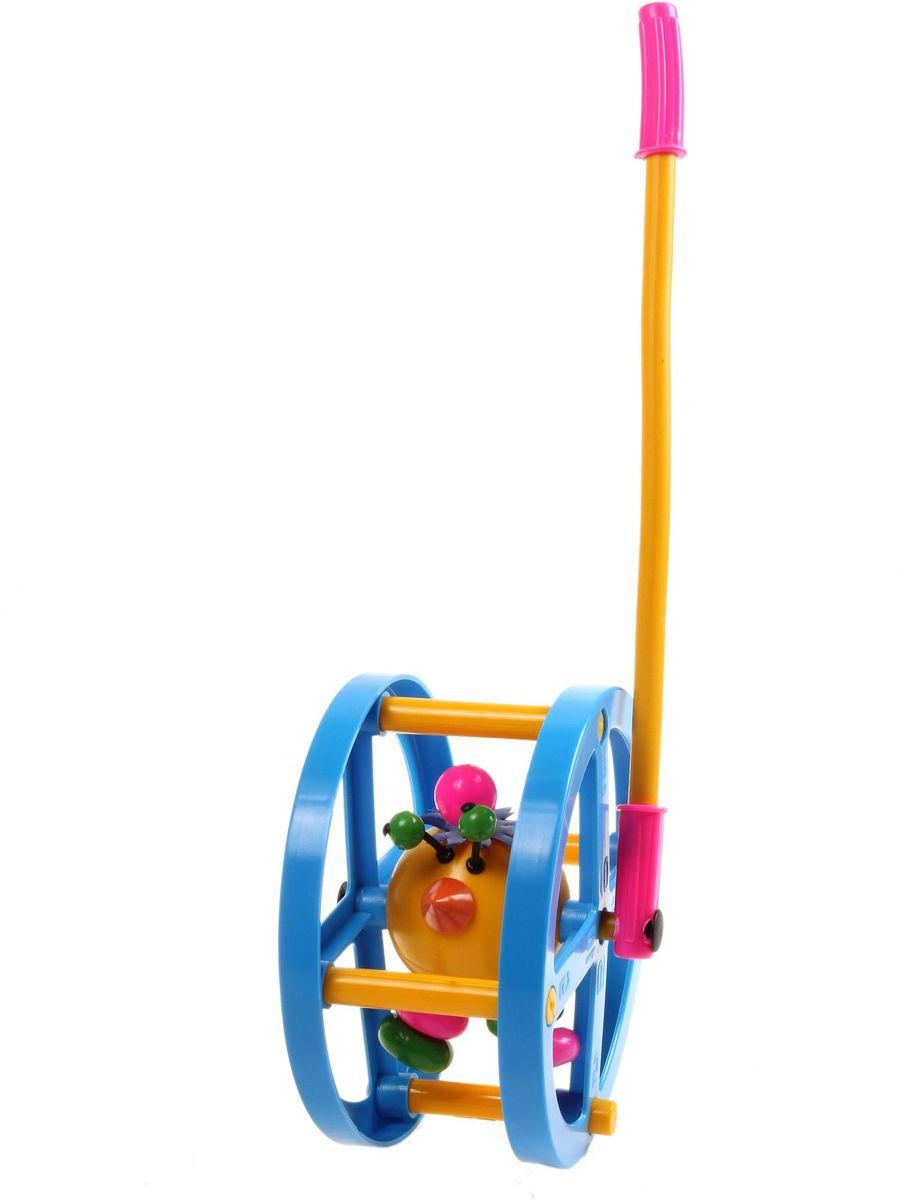 Sima-land Игрушка-каталка Колесо с ручкой детское колесо каталка