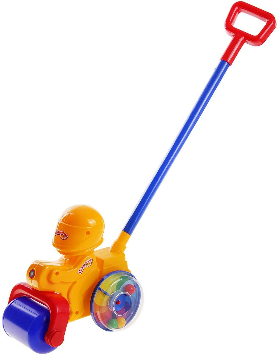 Пластмастер Игрушка-каталка Мотоцикл мягкая каталка