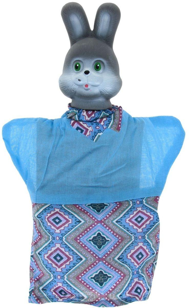 Sima-land Мягкая игрушка на руку Заяц 506986 sima land антистрессовая игрушка заяц лаки 02