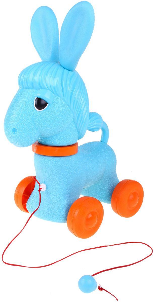 Sima-land Игрушка-каталка Ослик 585420 sima land антистрессовая игрушка спираль радуга улыбайся