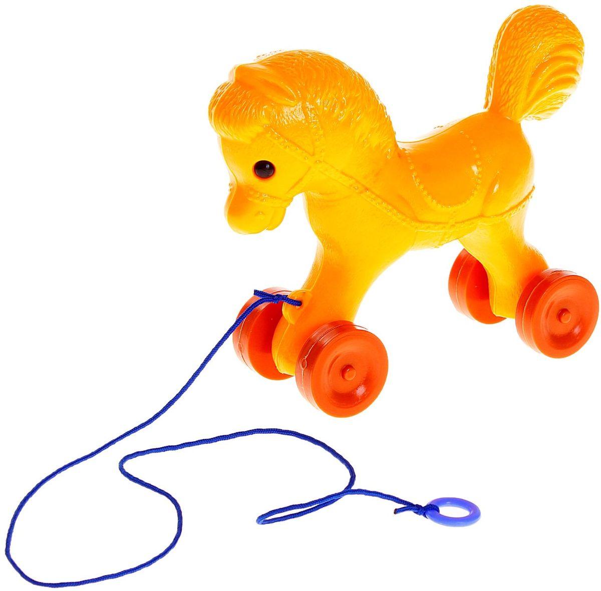 Sima-land Игрушка-каталка Лошадка sima land антистрессовая игрушка спираль радуга улыбайся