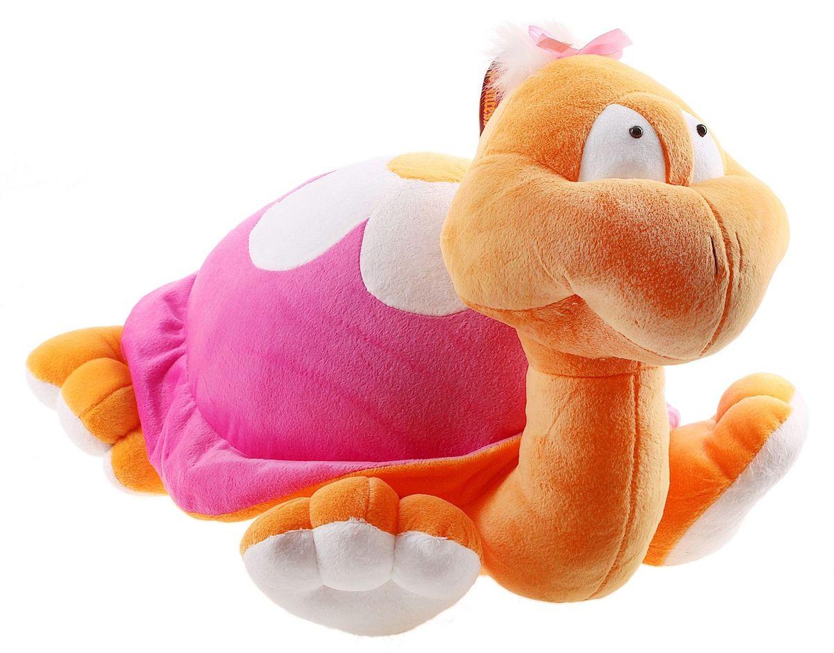 Princess Love Мягкая игрушка Черепаха Ромашка 70 см флиппер тойз мягкая игрушка черепаха тортила 70 см 632416