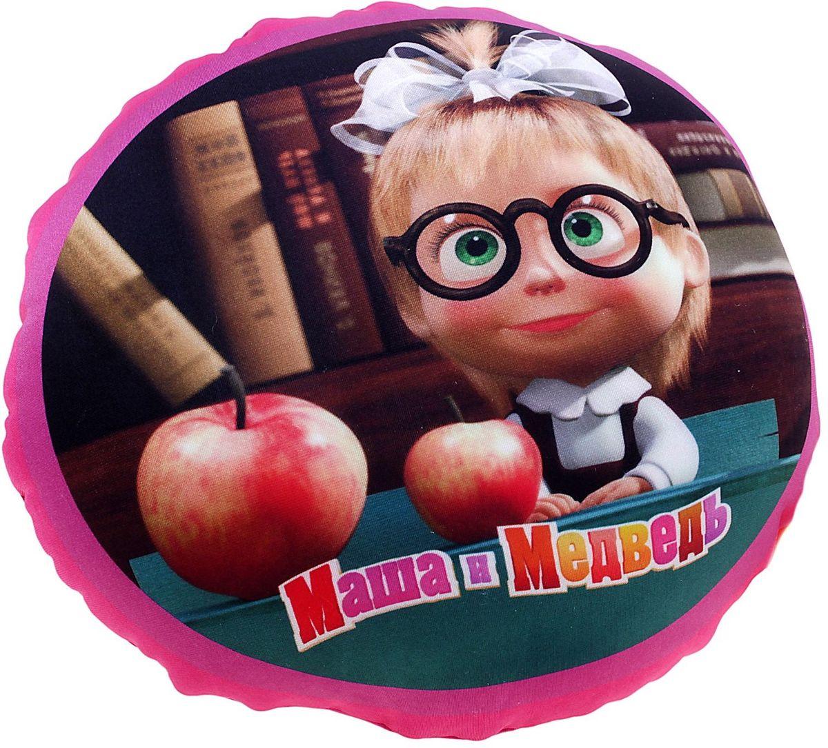 СмолТойс Подушка-игрушка Маша и Медведь 664150 смолтойс мяч антистресс маша и медведь