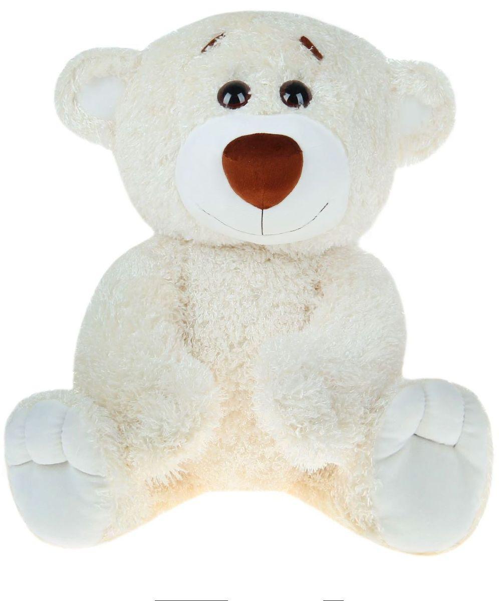 Мальвина Мягкая игрушка Медведь Сержик 80 см 719483 медведь сержик