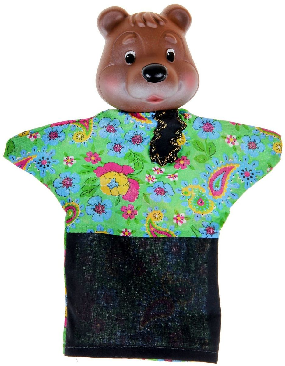 Sima-land Мягкая игрушка на руку Медведь 722658 sima land игрушка на руку егорка
