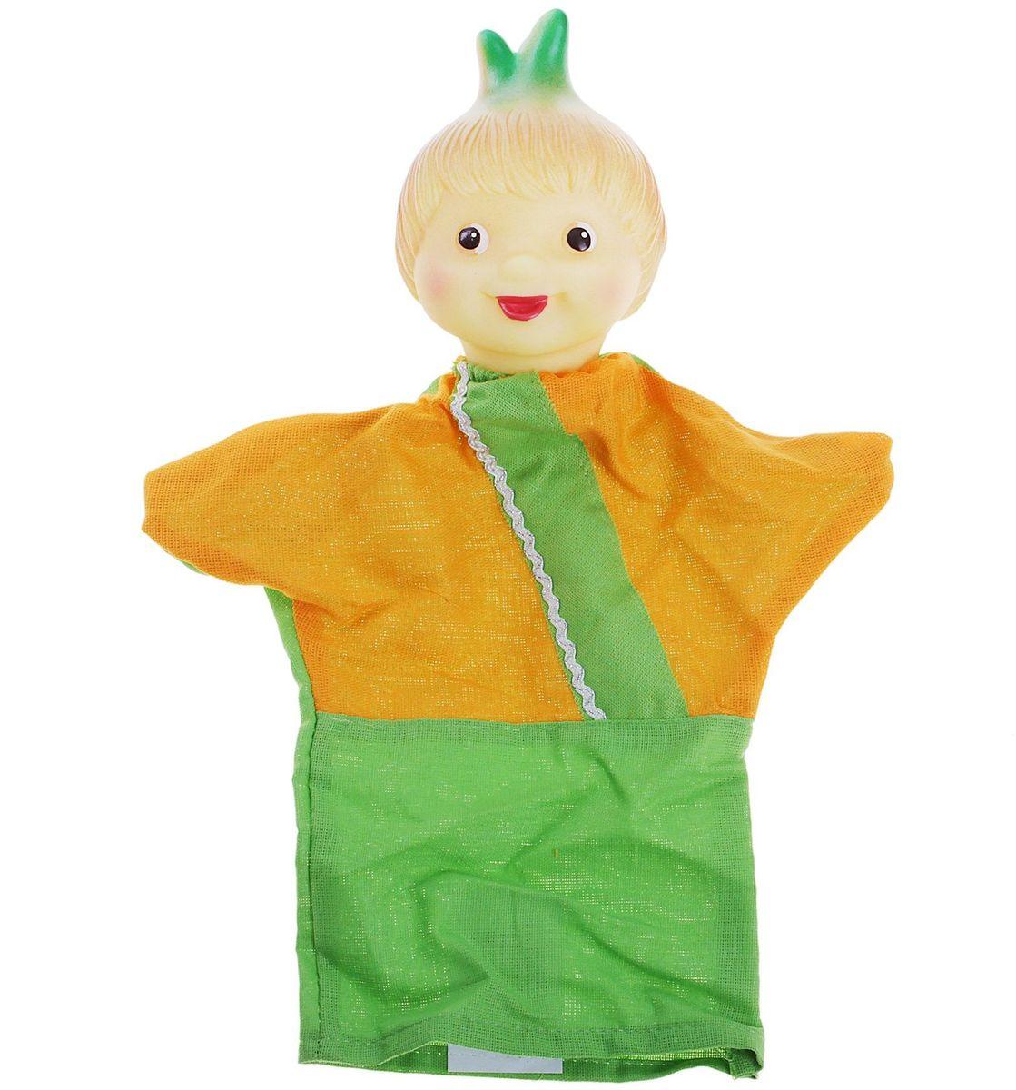 Sima-land Мягкая игрушка на руку Чиполлино 722666 sima land мягкая игрушка на руку заяц 506986