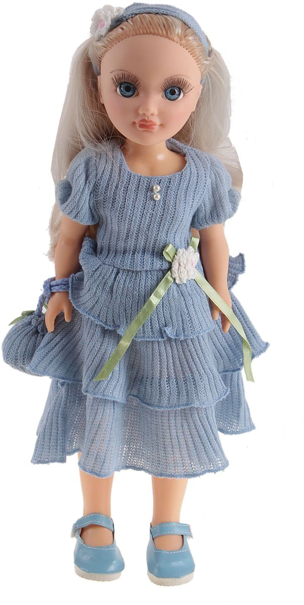 Sima-land Кукла озвученная Анастасия голубой ажур 42 см 751228 куклы и одежда для кукол весна озвученная кукла саша 1 42 см