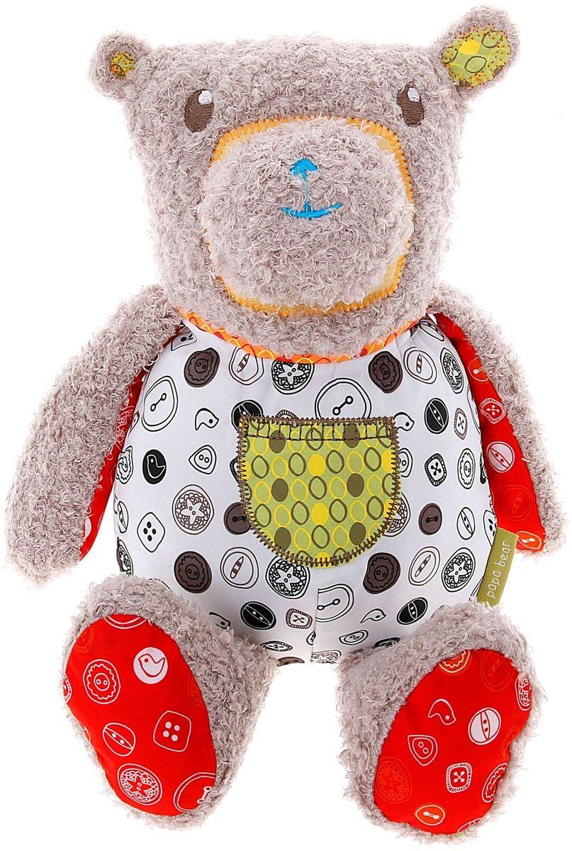 одеяла little me одеяло бежевые рюши Little Bird Told Me Мягкая игрушка Папа Медведь 844627