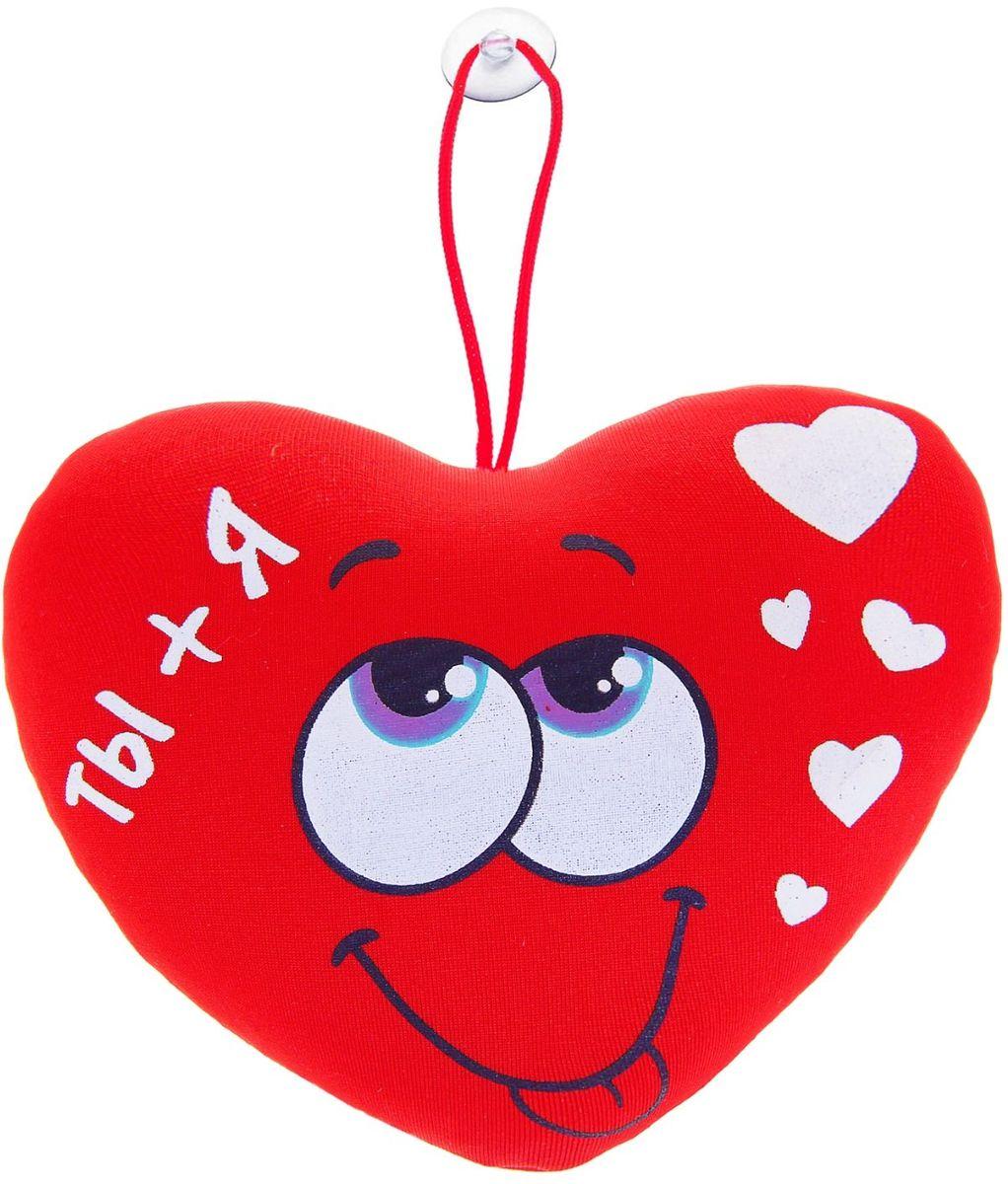 Sima-land Мягкая игрушка-антистресс Сердечко Ты+я 864925 sima land мягкая игрушка антистресс сердечко скажи мне да 330862