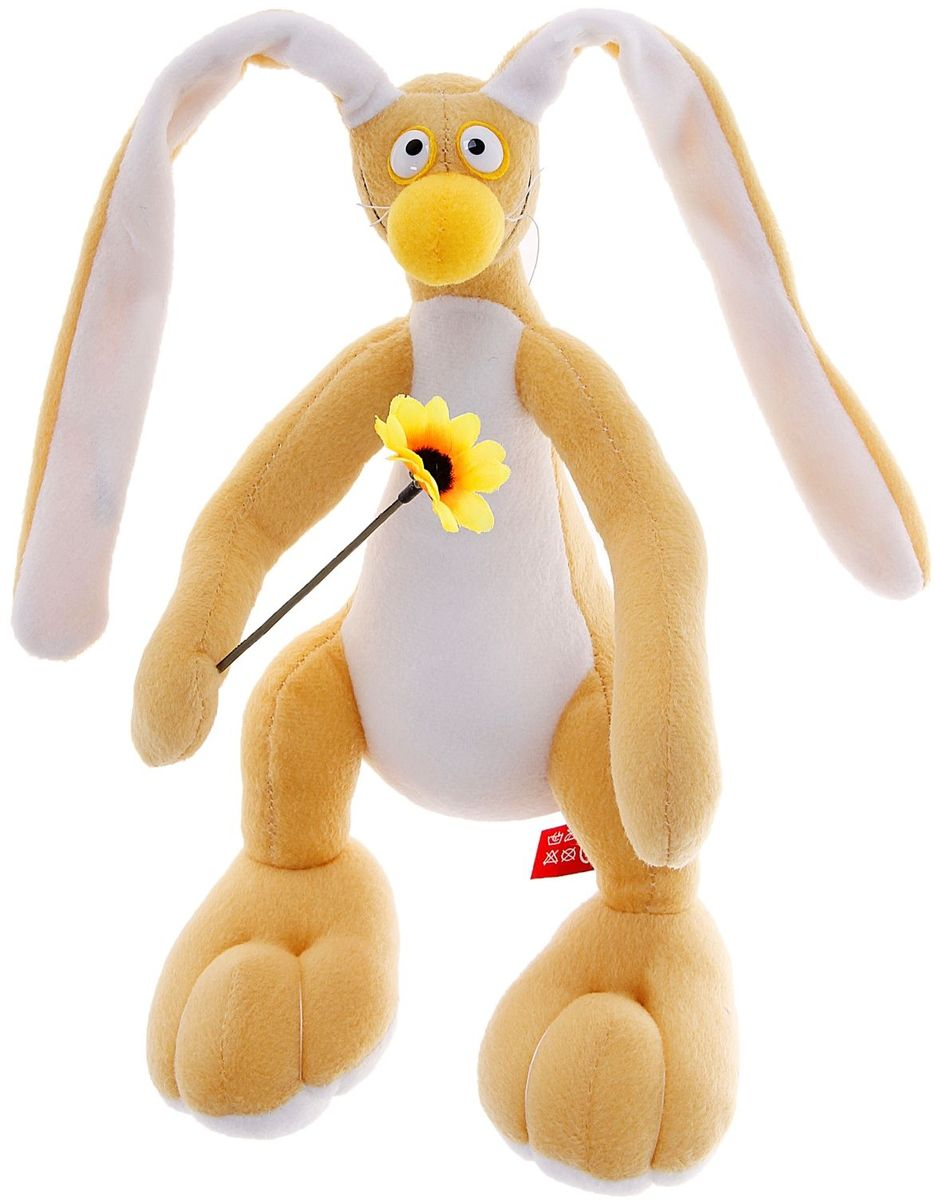Fancy Мягкая игрушка Заяц Федя 27 см 889991 fancy мягкая игрушка собака эля 14 5 см
