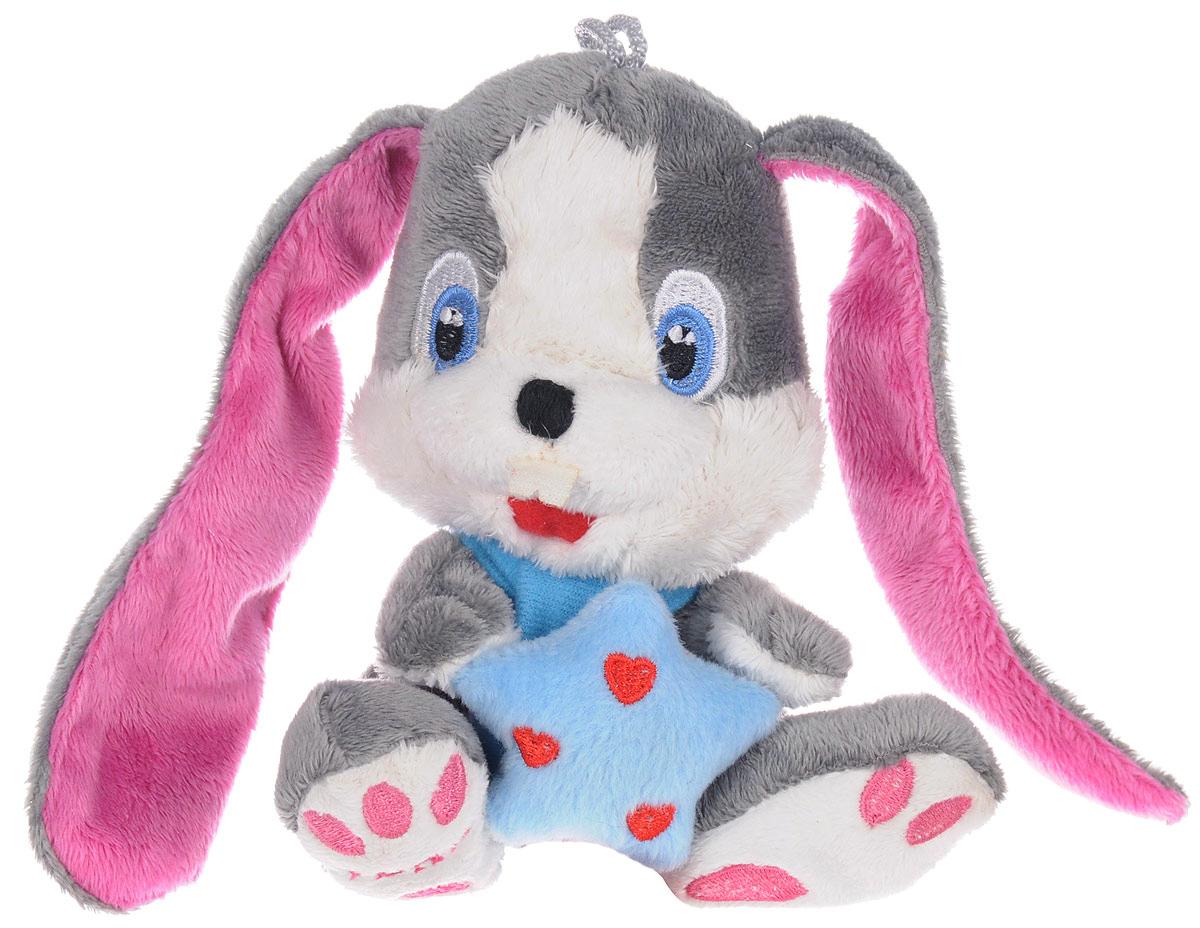 Magic Bear Toys Мягкая игрушка Заяц Звездочет цвет серый 14 см мягкая игрушка заяц с длинными ушами