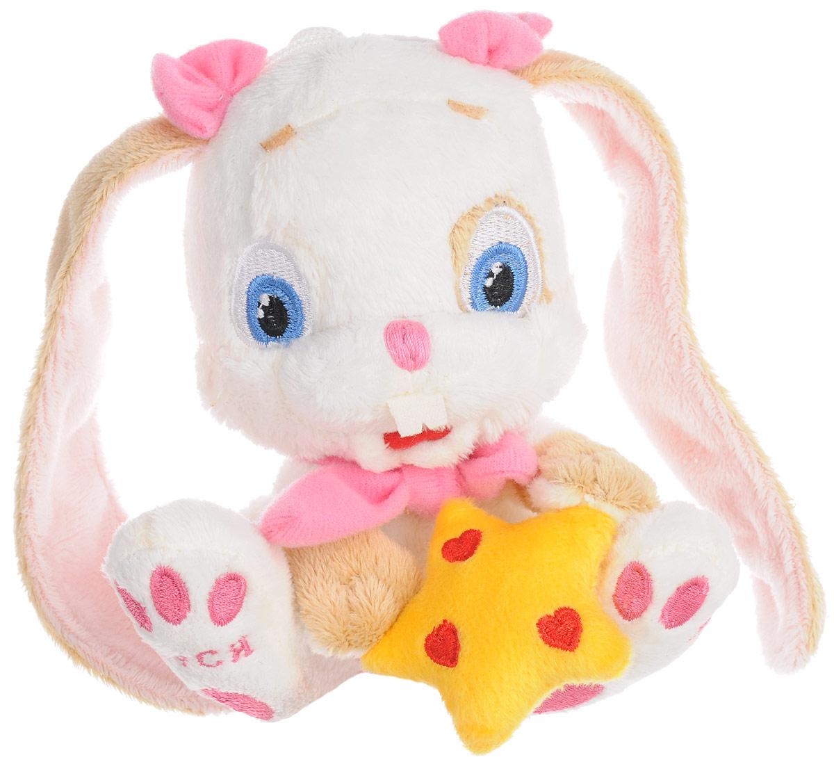 Magic Bear Toys Мягкая игрушка Заяц Звездочет цвет белый 14 см мягкая игрушка заяц с длинными ушами
