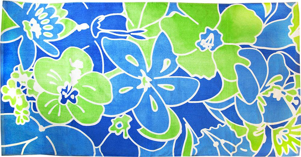 Полотенце пляжное Bonita, махровое, цвет: синий, 75 x 150 см1010216680Пляжное полотенце Bonita выполнено из 100% хлопка. Изделие отлично впитывает влагу, быстро сохнет, сохраняет яркость цвета и не теряет форму даже после многократных стирок. Такое полотенце очень практично и неприхотливо в уходе. Оно создаст прекрасное настроение и отлично подойдет для использования дома и на пляже.
