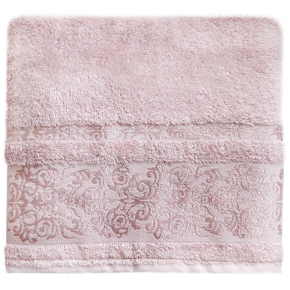 """Банное полотенце Bonita """"Дамаск"""" выполнено из махровой ткани. Изделие отлично впитывает влагу, быстро сохнет, сохраняет яркость цвета и нетеряет форму даже после многократных стирок. Такое полотенце очень практично и неприхотливо в уходе. Оно создаст прекрасное настроение и украсит интерьер в ванной комнате."""