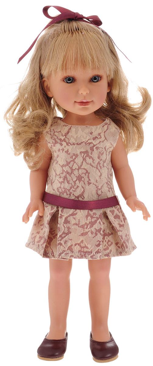 Vestida de Azul Кукла Паулина с челкой Лето Классика