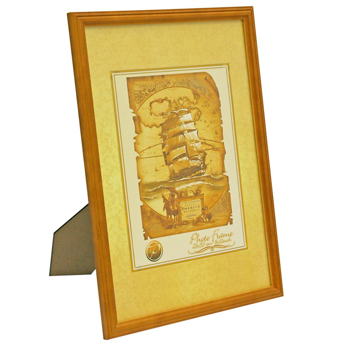 Фоторамка Veld-Co, деревянная, цвет: светло-коричневый, 10 х 15 см6268Фоторамка Veld-Co выполнена из дерева и стекла, которое защищает фотографию. Задняясторона рамки оснащена специальной ножкой, благодаря которой ее можно поставить на столили любое другое место в доме или офисе. Рамка оснащена двумя специальными отверстиямидля подвешивания на стену.Такая фоторамка поможет вам оригинально и стильно дополнить интерьер помещения, а такжепозволит сохранить память о дорогих вам людях и интересных событиях вашей жизни.