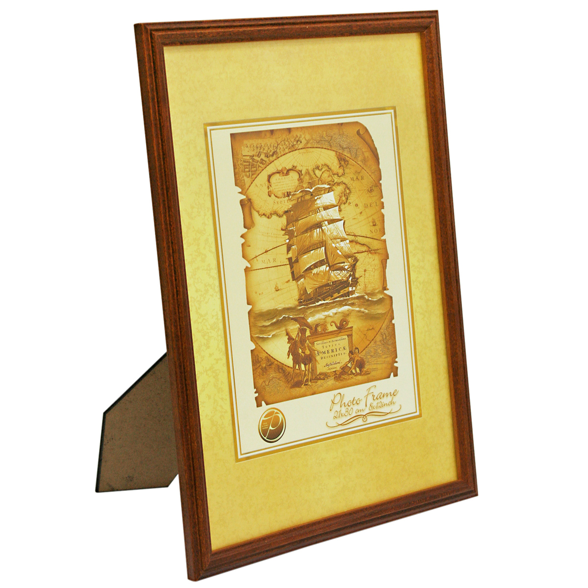 Фоторамка Veld-Co, деревянная, цвет: темно-рыжий, 10 х 15 см6268_темно-рыжийФоторамка Veld-Co выполнена из дерева и стекла, которое защищает фотографию. Задняясторона рамки оснащена специальной ножкой, благодаря которой ее можно поставить на столили любое другое место в доме или офисе. Рамка оснащена двумя специальными отверстиямидля подвешивания на стену.Такая фоторамка поможет вам оригинально и стильно дополнить интерьер помещения, а такжепозволит сохранить память о дорогих вам людях и интересных событиях вашей жизни.