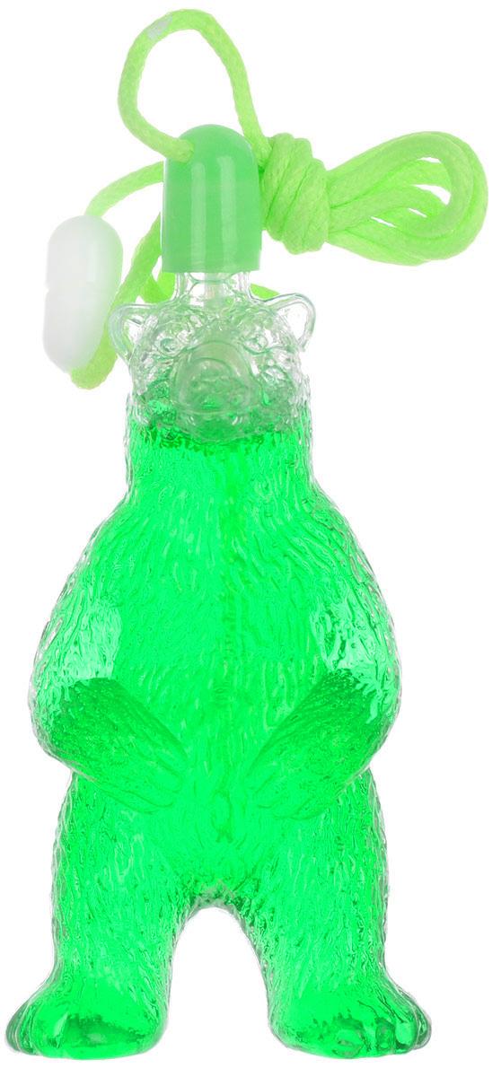 Uncle Bubble Мыльные пузыри Медведь цвет зеленый paddle bubble 278213 мыльные пузыри 60 мл с набором ракеток