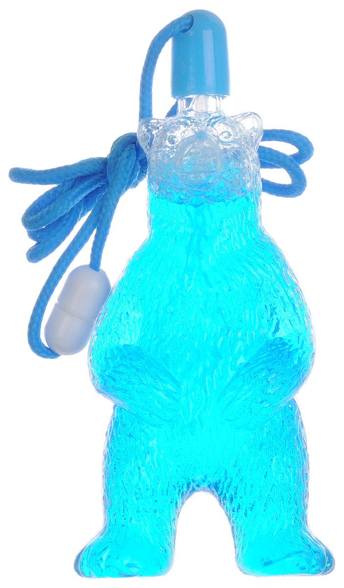 Uncle Bubble Мыльные пузыри Медведь цвет голубой paddle bubble 278213 мыльные пузыри 60 мл с набором ракеток