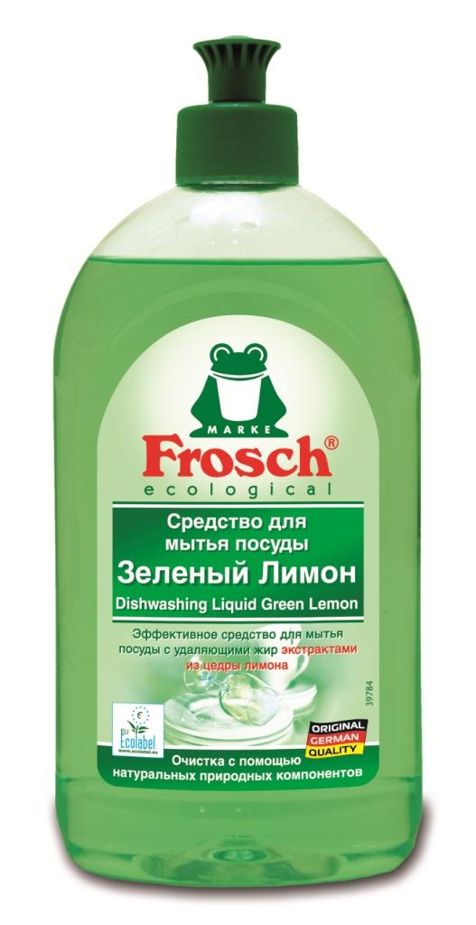 Средство для мытья посуды Frosch Лимон, 500 мл706183Средство для мытья посуды Frosch Лимон естественным способом с помощью высокоэффективных жирорастворяющих экстрактов из цедры лимона удаляет жир и грязь и оставляет при этом приятный свежий аромат лимона.Очистка с помощью натуральных природных компонентов!Торговая марка Frosch специализируется на выпуске экологически чистой бытовой химии. Для изготовления своей продукции Frosch использует натуральные природные компоненты. Ассортимент содержит все необходимое для бережного ухода за домом и вещами. Продукция торговой марки Frosch эффективно удаляет загрязнения, оберегает кожу рук и безопасна для окружающей среды. Характеристики: Объем: 500 мл. Производитель: Германия. Артикул: 46811.Уважаемые клиенты! Обращаем ваше внимание на возможные изменения в дизайне упаковки. Качественные характеристики товара остаются неизменными. Поставка осуществляется в зависимости от наличия на складе.