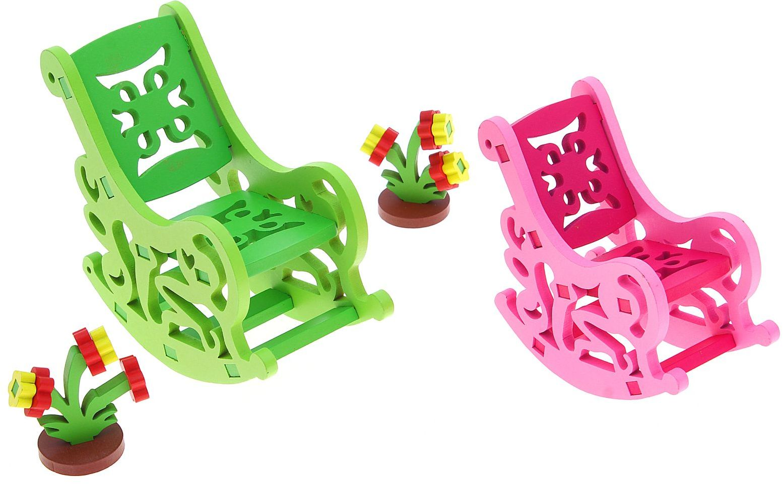 Sima-land Мебель для кукол Собери сам Кресла-качалки 1156876 ремонт кресла качалки