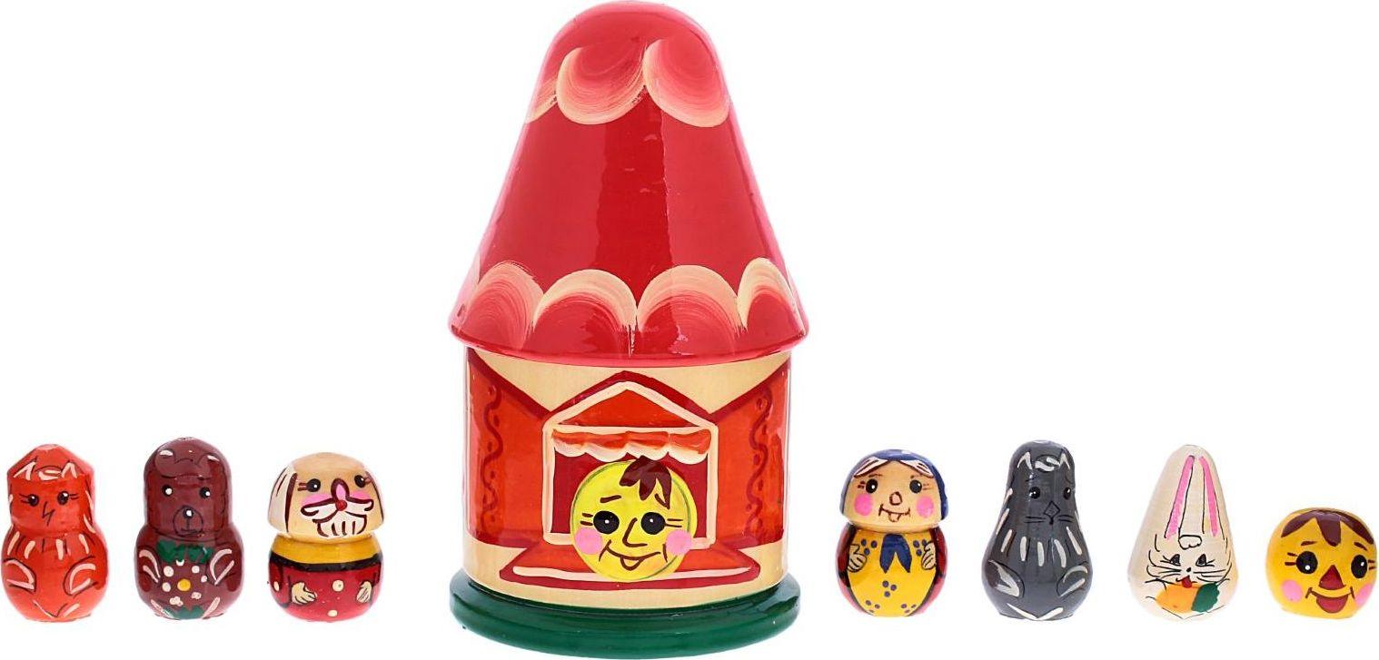 RNToys Пальчиковый театр Колобок 1776004 дрофа медиа набор для изготовления игрушек пальчиковый театр зоопарк