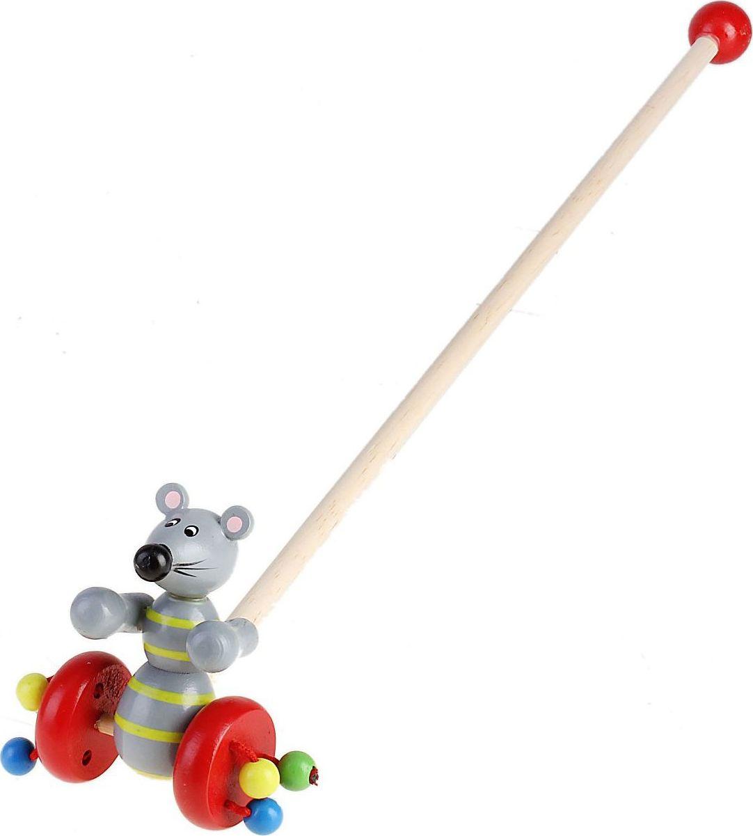 Sima-land Игрушка-каталка Мышка каталки игрушки mertens каталка обезьянка